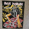 Iron Maiden Piece Of Mind Vintage Backpatch
