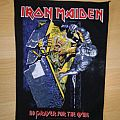 Iron Maiden No Prayer For The Dying backpatch