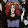 Sarcofago The Laws Of Scourge coffin patch