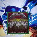 Metallica Master Of Puppets original patch (I guess)