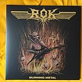 Rok - Tape / Vinyl / CD / Recording etc - ROK - Burning Metal LP