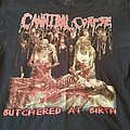 Cannibal Corpse - TShirt or Longsleeve - Cannibal Corpse Butchered at birth t-shirt