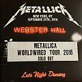 "Metallica - ""Live at Webster Hall"" Tpl. Live Album Tape / Vinyl / CD / Recording etc"