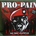 "Pro Pain - ""The Final Revolution"" LP in Marbled Red Vinyl"