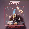 "Accept - Tape / Vinyl / CD / Recording etc - Accept - ""Staying A Life"" Live LP"