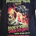 """Demolition Train - """"Bound by Horror, Sealed with Blood"""" official shirt"""