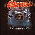 """Saxon - """"Battering Ram"""" Official Shirt"""