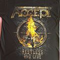 """Accept - """"Restless and Live"""" official tour shirt"""