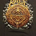 """Rage - """"Black In Mind"""" official 20th anniversary tour shirt"""