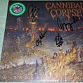 "Cannibal Corpse - ""A Skeletal Domain"" Gatefold LP in Green/Black Vinyl Tape / Vinyl / CD / Recording etc"