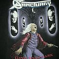 """Sanctuary- """"Into the Mirror Black"""" official shirt"""