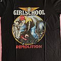 "Girlschool - TShirt or Longsleeve - Girlschool - ""Demolition"" official t-shirt"