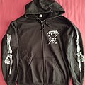 "Anthrax - Hooded Top - Anthrax - ""Persistence of Time"" official zipper hoodie"