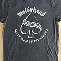 "Motörhead - TShirt or Longsleeve - Motörhead - ""Ace Up Your Sleeve Tour '80"" official reprint shirt"