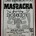 Massacra gig flyer
