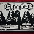 Entombed - French gig flyer
