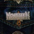 Memoriam - metal pin badge