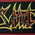 Sabbat - History Of A Time To Come logo patch