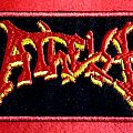 Atheist logo patch