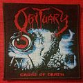 Obituary - Cause Of Death patch