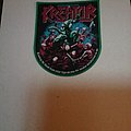 Kreator Patch green border