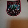 Kreator Patch red border