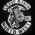 Grave Maker - TShirt or Longsleeve - Grave Maker - Sons of Anarchy Rip S