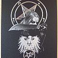 Satanic Warmaster. Engraved image by Mariusz Malarz.