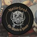 Patch Motörhead The Wörld is Yours