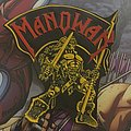Patch Rubber Manowar Hail to England vintage