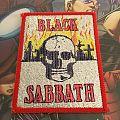 Patch Black Sabbath Glitter