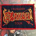 Patch Saxon Crusader Tour