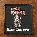 Patch Iron Maiden Killers British Tour