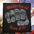 Patch Motörhead Iron Fist
