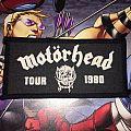 Patch Motörhead Tour 1980