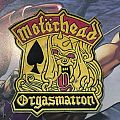 Patch Motörhead Orgasmatron Rubber
