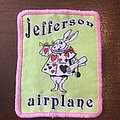 Patch Jefferson Airplane White Rabbit