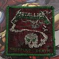 Patch Metallica Creeping Death Green Version