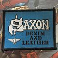 Patch Saxon Denim and Leather