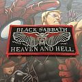 Black Sabbath Heaven and Hell Tour  Patch