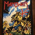 Manowar - Patch - Back Patch Manowar Hail to England