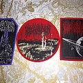 Blood Incantation woven patches