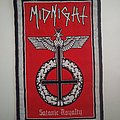 Satanic Royalty woven patch