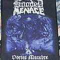 Wanted Hooded Menace backpatches
