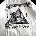 Werewolf Power baseball shirt