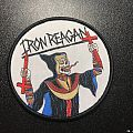 iron reagan-crossover ministry patch