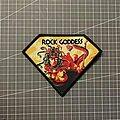 Rock Goddess - Patch - Rock Goddess - Hell Hath No Fury