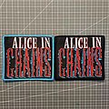 Alice In Chains - Patch - Alice in Chains - Logo