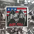 Overkill - Patch - Overkill american flag