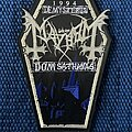 Mayhem - Patch - Mayhem - De Mysteriis Dom. Sathanas